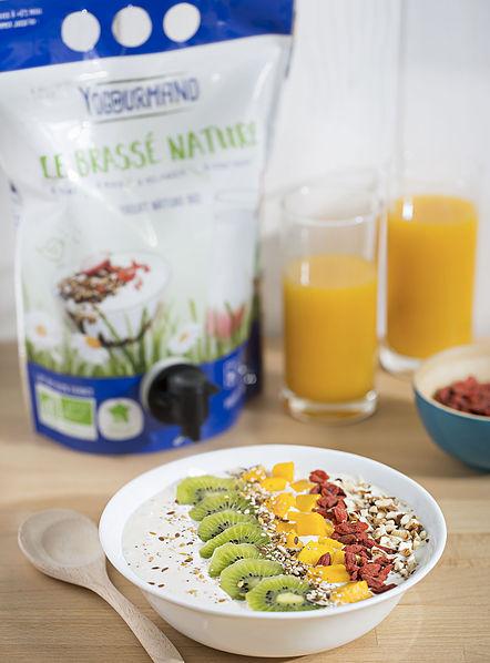 Recettes : Breakfast bowl au yaourt